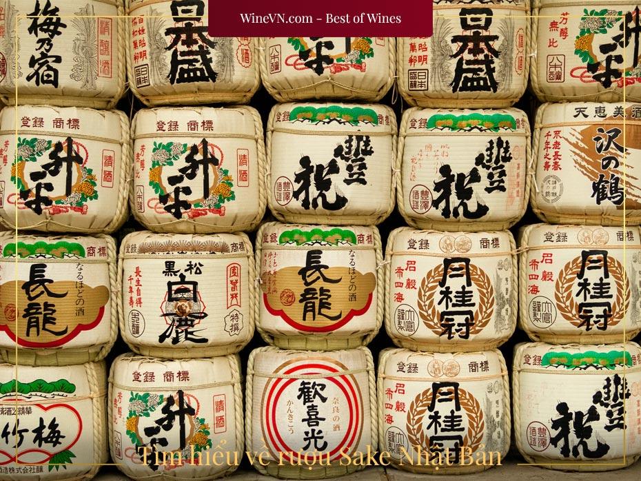 tìm hiểu về rượu sake nhật bản