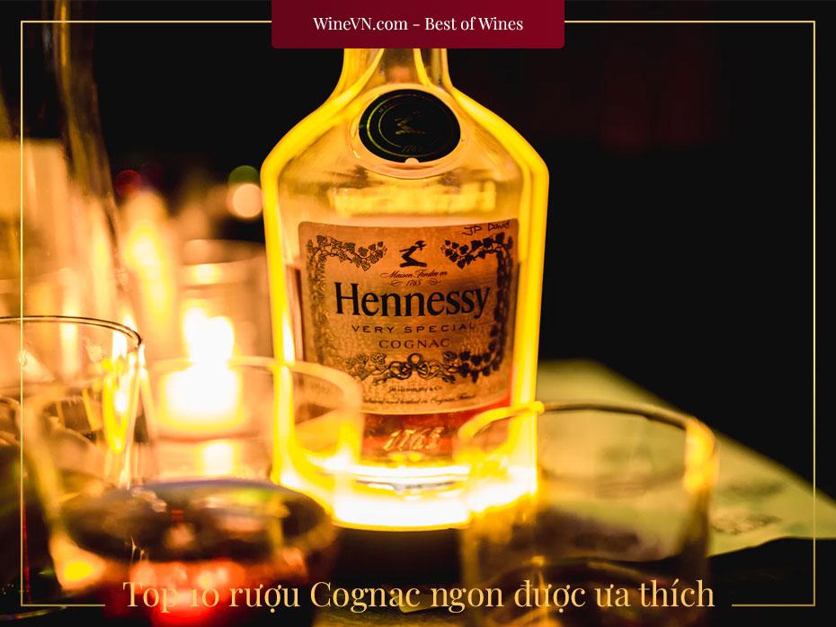 top rượu Cognac ngon nhất