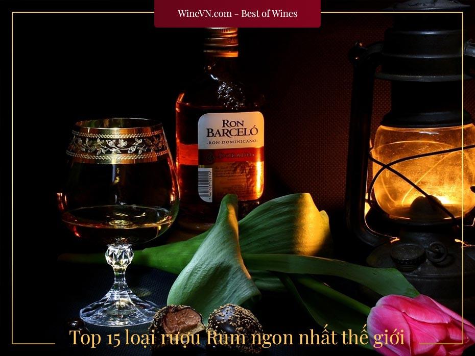 Top rượu Rum ngon nhất