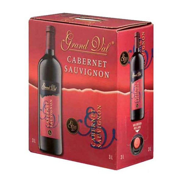 Rượu Vang Bịch Grand Val Cabernet Sauvignon
