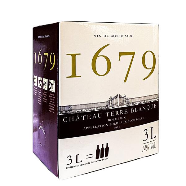 Rượu Vang Bịch I679 Chateau Terre Blanque