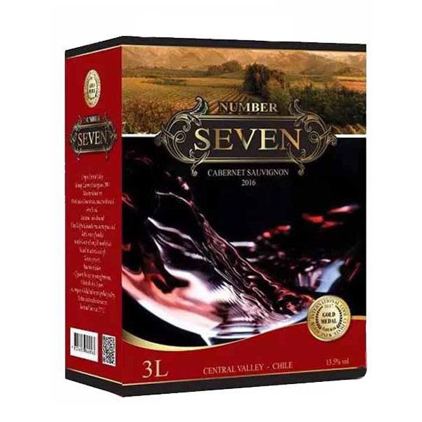 Rượu Vang Bịch Number Seven