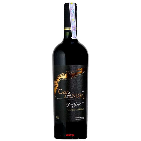 Rượu Vang Cas Andes Grand Reserva Cabernet Sauvignon