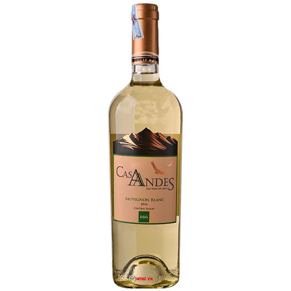 Rượu Vang Cas Andes Sauvignon Blanc