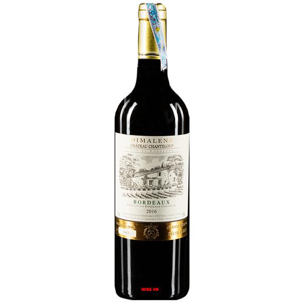 Rượu Vang Chateau Chanteloup Dimalena