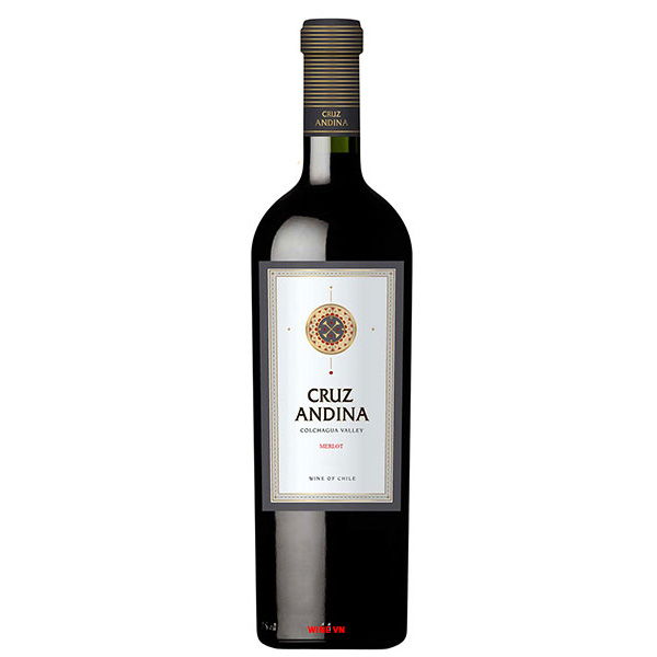 Rượu Vang Chile Cruz Andina Merlot