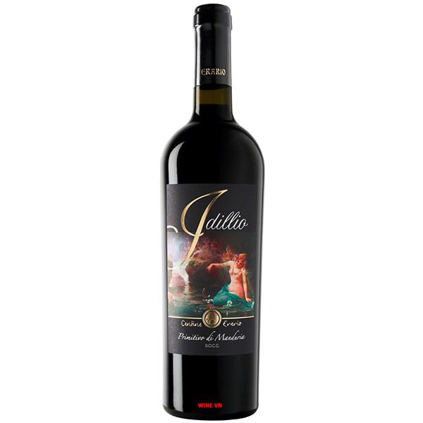 Rượu Vang Idillio Primitivo Di Manduria