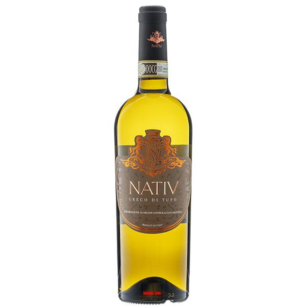 Rượu Vang Nativ Greco Di Tufo