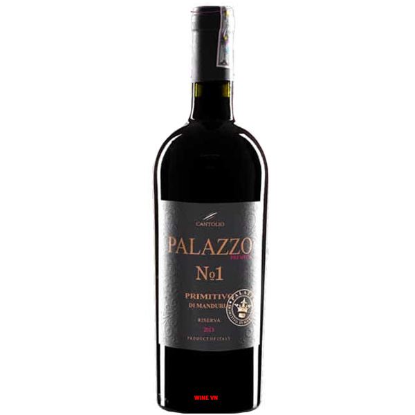 Rượu Vang Palazzo No1 Primitivo Di Manduria