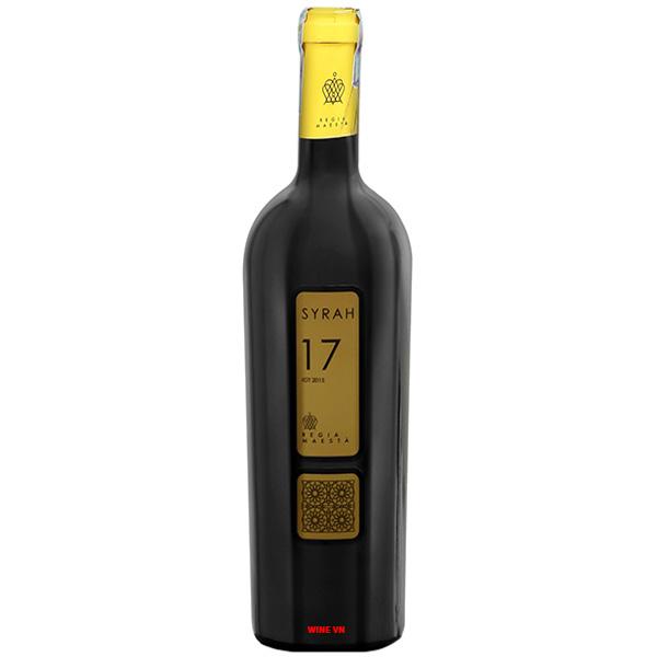 Rượu Vang Syrah 17 Regia Maesta