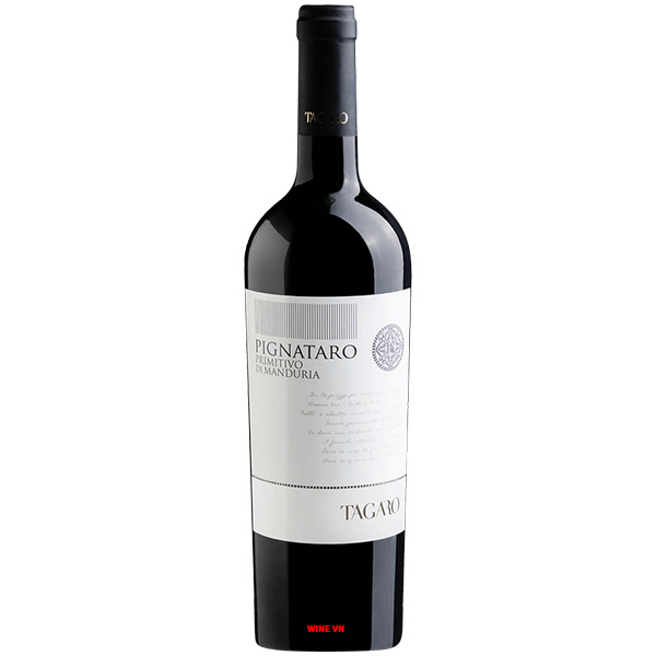 Rượu Vang Tagaro Pignataro Primitivo