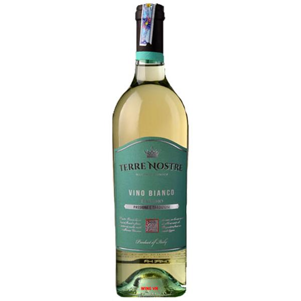 Rượu Vang Terre Nostre Vino Bianco
