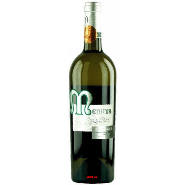 Rượu Vang Trắng Menuts Bordeaux