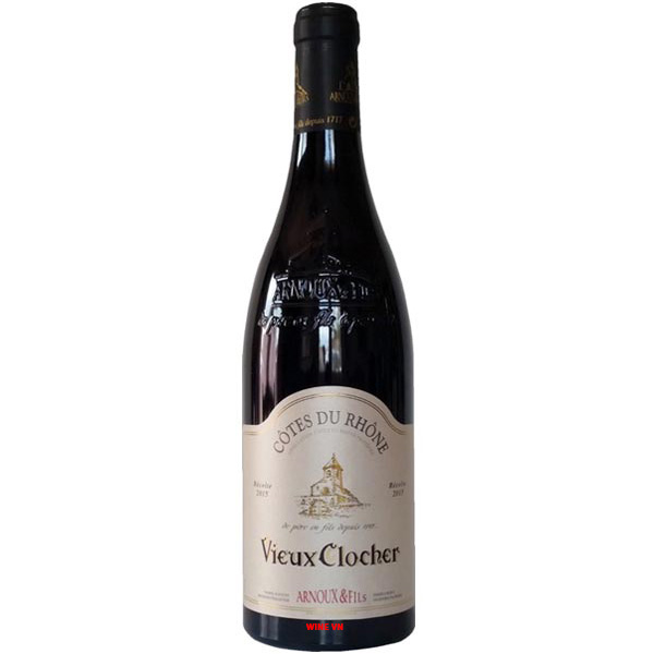 Rượu Vang Vieux Clocher Cotes Du Rhone