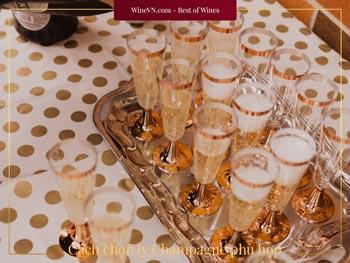 cách chọn ly Champagne phù hợp thumbnail