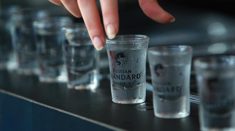 cách uống vodka