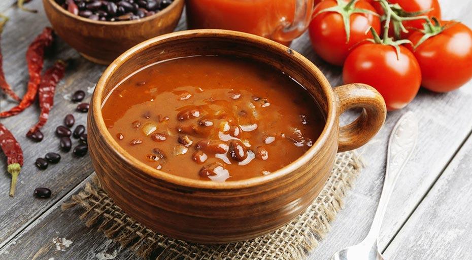 Đậu đỏ chay vị cay (Vegetarian Red Bean Chili)