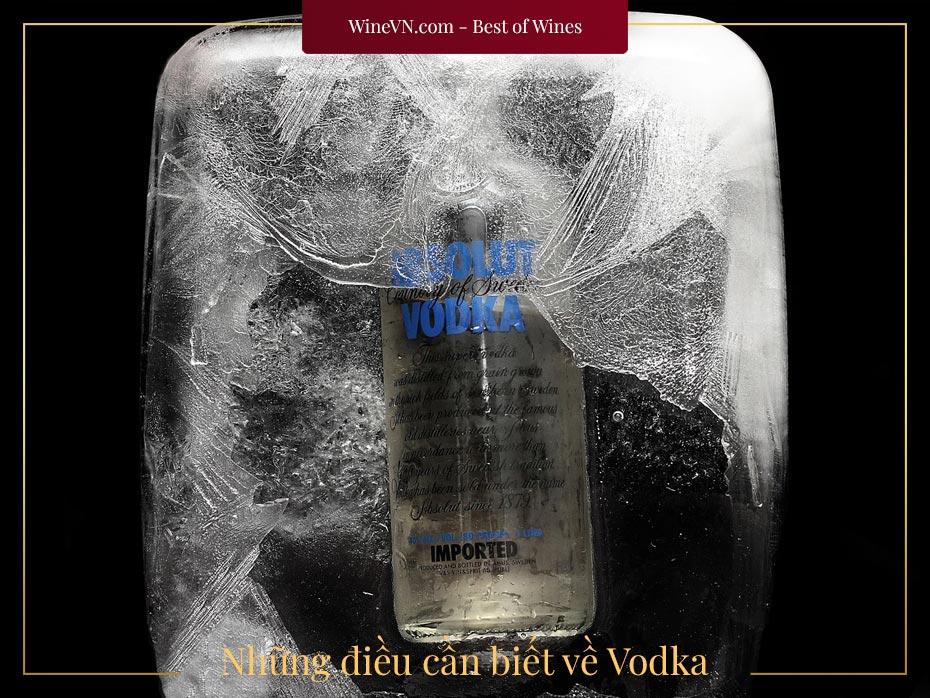 những điều cần biết về Vodka
