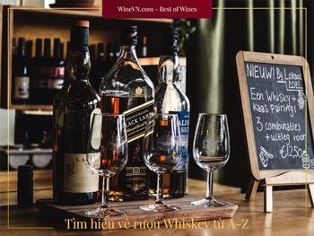 tìm hiểu về Whiskey thumbnail
