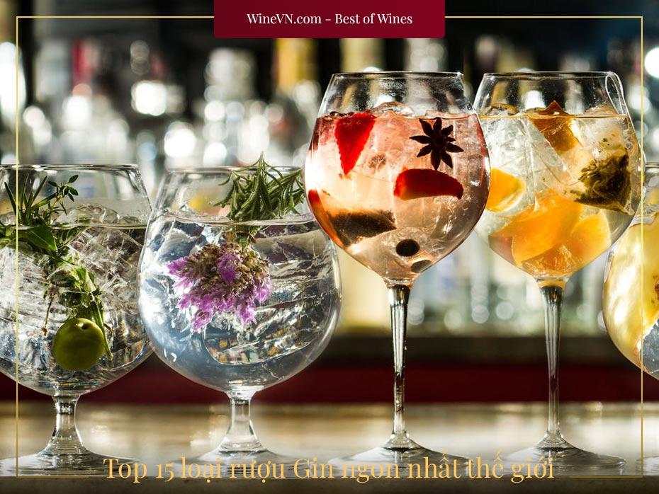 Top rượu Gin ngon nhất