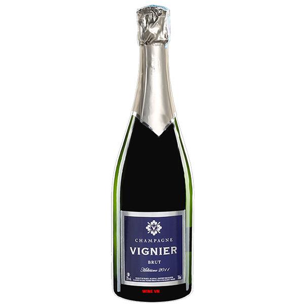 Rượu Champagne Vignier Brut