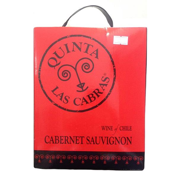 Rượu Vang Bịch Quinta Las Carbas Cabernet Sauvignon