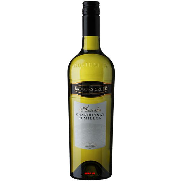 Rượu Vang Badgers Creek Chardonnay - Semillon