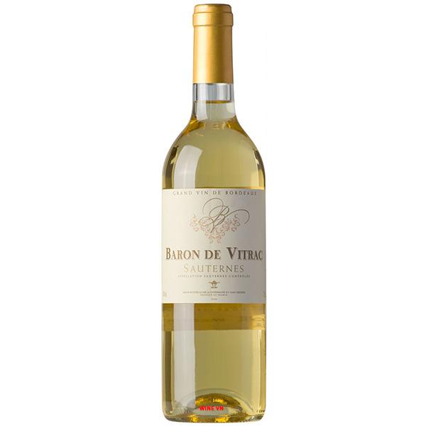 Rượu Vang Baron De Vitrac Sauternes