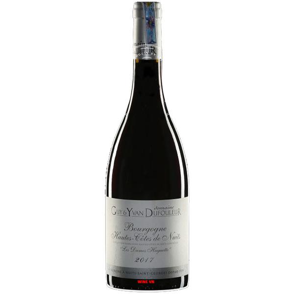 Rượu Vang Bourgogne Les Dames Huguette