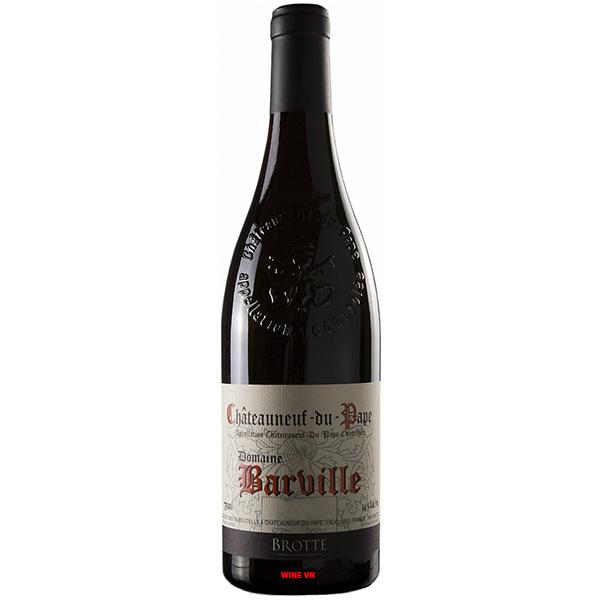 Rượu Vang Châteauneuf Du Pape Domaine Barville