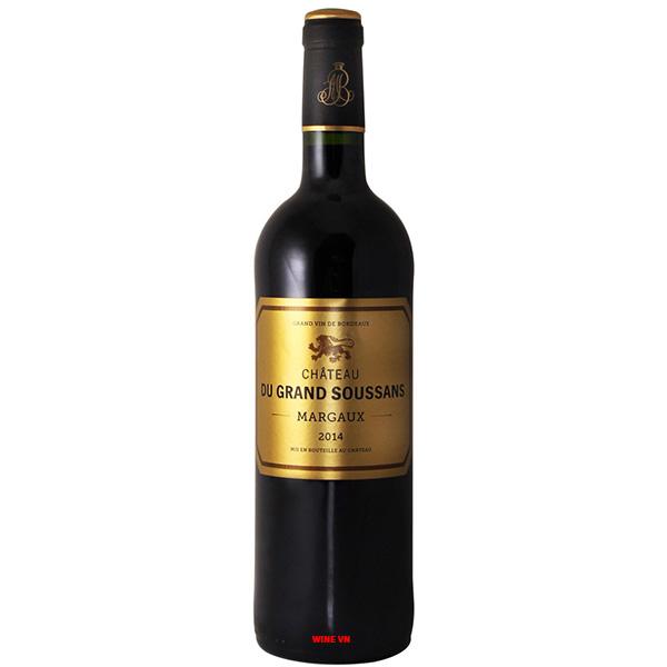 Rượu Vang Chateau Du Grand Soussans Margaux