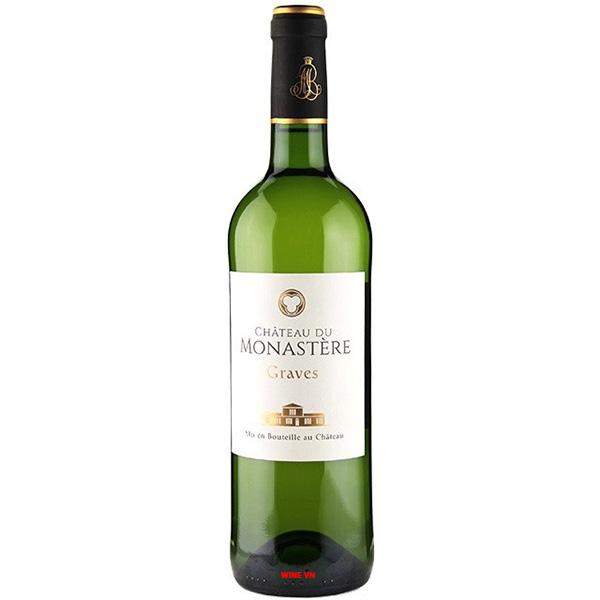 Rượu Vang Chateau Du Monastere Blanc