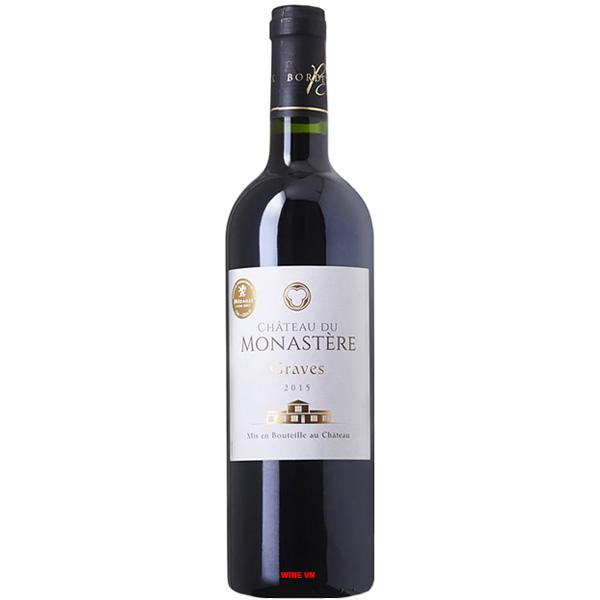 Rượu Vang Chateau Du Monastere
