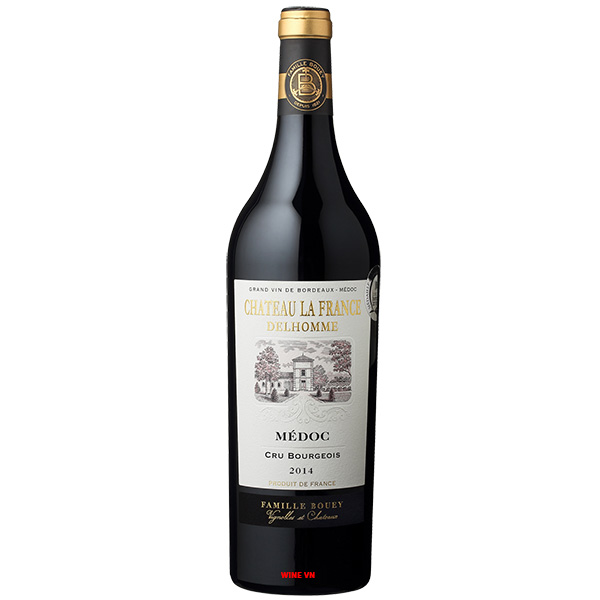 Rượu Vang Chateau France Delhomme