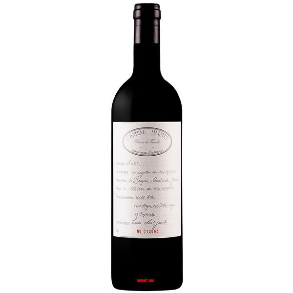 Rượu Vang Chateau Martet Reserve De Famille