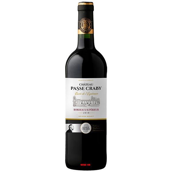 Rượu Vang Chateau Passe Craby Bordeaux