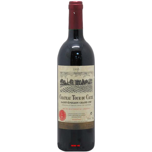 Rượu Vang Chateau Tour Du Cauze Saint Emilion Grand Cru