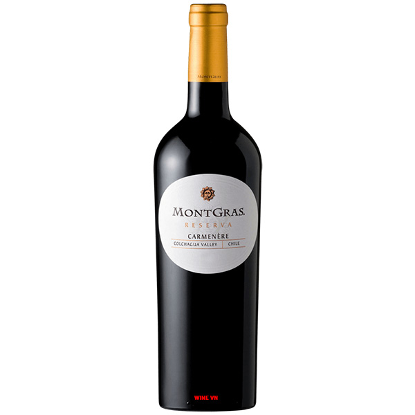 Rượu Vang Chile MontGras Reserva Carmenere