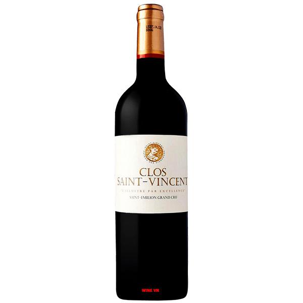 Rượu Vang Clos Saint Vincent Saint Emilion Grand Cru