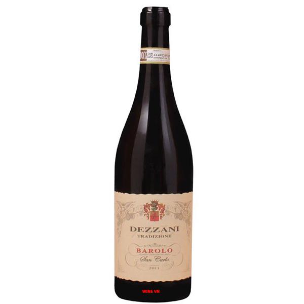 Rượu Vang Dezzani Barolo San Carlo