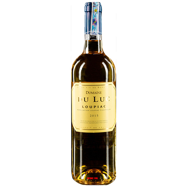 Rượu Vang Domaine Du Luc Loupiac