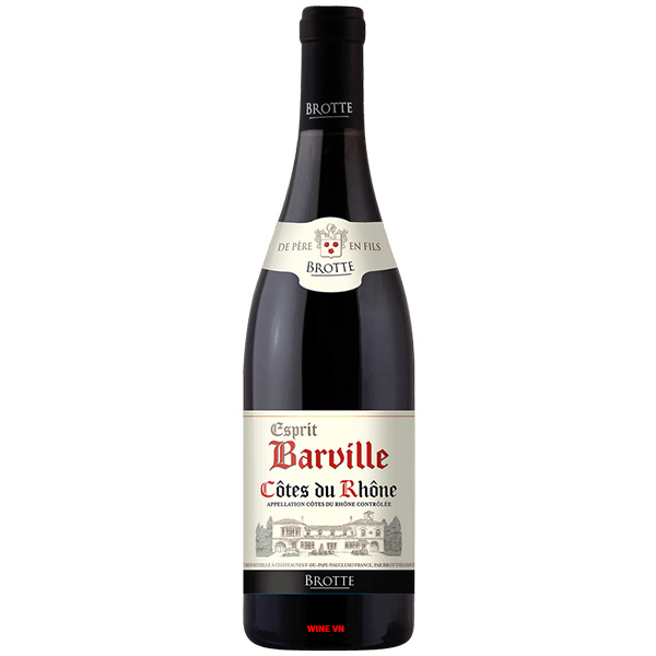 Rượu Vang Esprit Barville Côtes Du Rhone