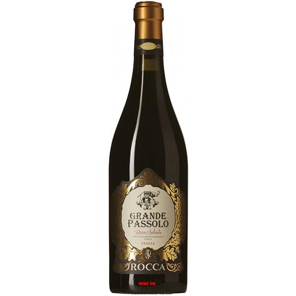 Rượu Vang Grande Passolo Rosso Salento Rocca