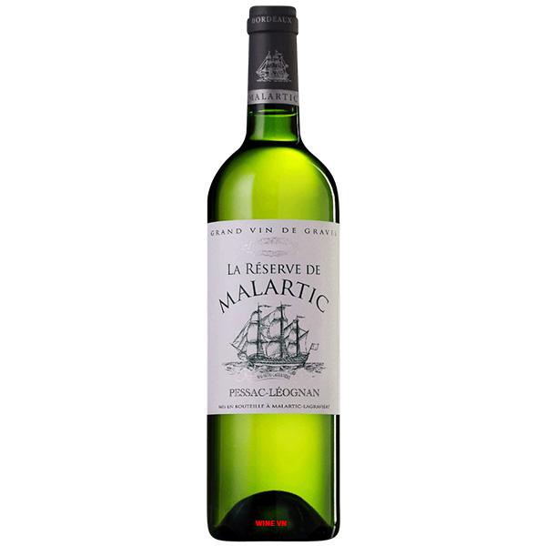 Rượu Vang La Reserve De Malartic Blanc