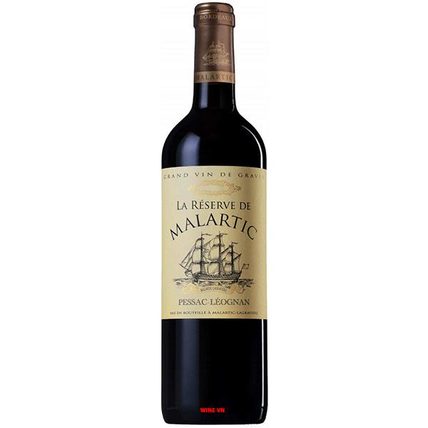 Rượu Vang La Reserve De Malartic