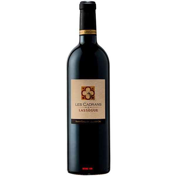 Rượu Vang Les Cadrans Lassegue