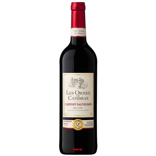 Rượu Vang Les Ormes De Cambras Cabernet Sauvignon