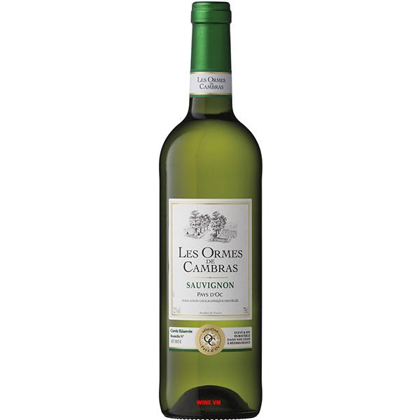 Rượu Vang Les Ormes De Cambras Sauvignon