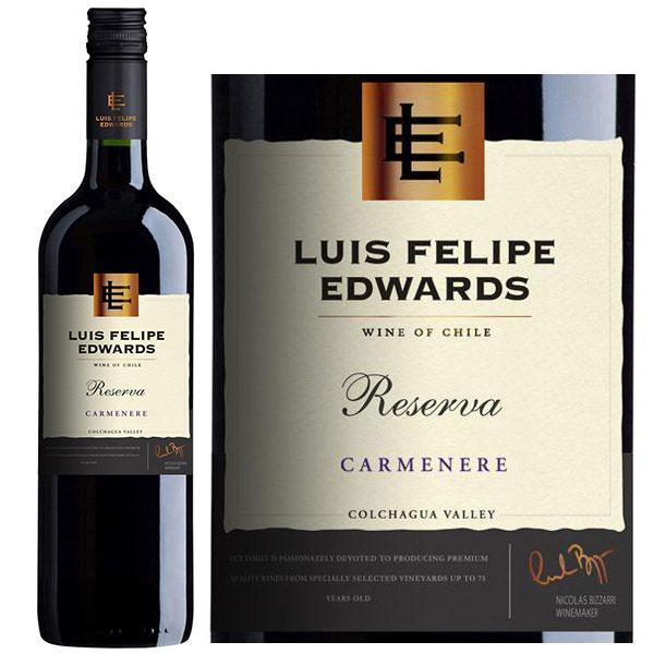 Rượu Vang Luis Felipe Edwards Reserva Carmenere
