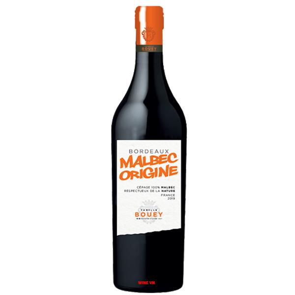 Rượu Vang Malbec Origine Bordeaux
